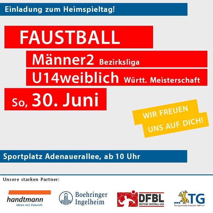 Heimspieltag U14weiblich Württ. Meisterschaft & Männer2 Bezirksliga @ Sportplatz